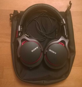 Sony MDR-1RBT avec cable plus son sac